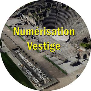 numerisation 3d theatre antique