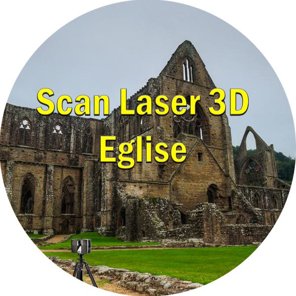 scan laser 3d eglise